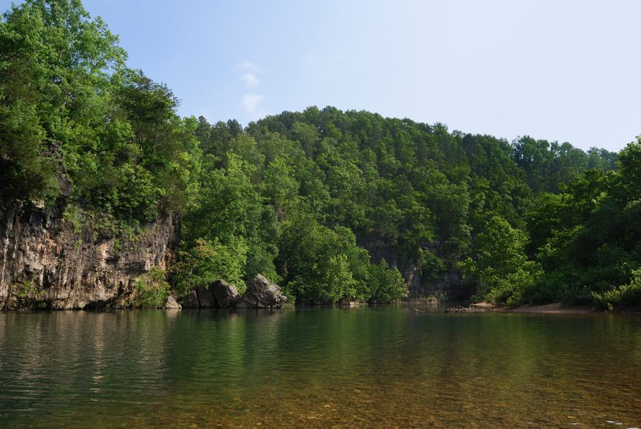 Camping at Blue Spring Campground & Canoeing on Jack's ...