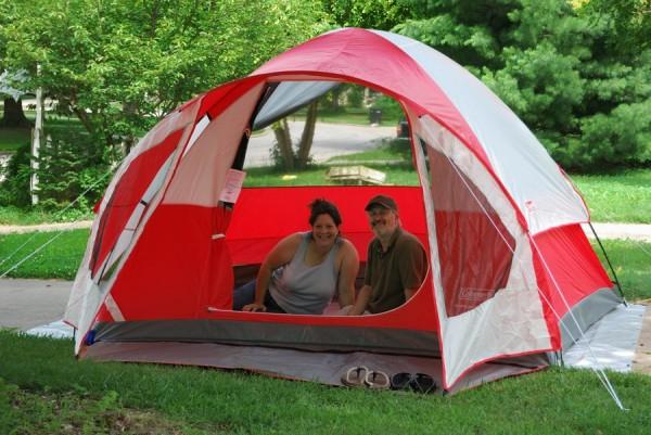 Photograph of a Coleman Sunlight Ridge Tent
