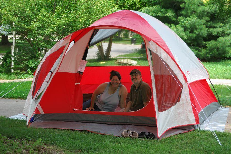 Photograph of a Coleman Sunlight Ridge Tent & Gear Review: Coleman Sunlight Ridge tent - Ozarks Walkabout