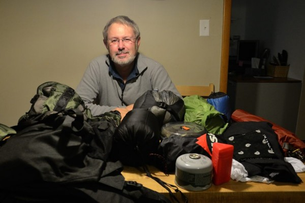 Packing up my Gear ready for a trip to Whitaker Point /  Hawksbill Crag in Arkansas