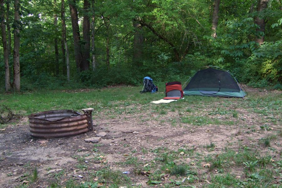 Trip Report Two Days Solo Backpacking In Busiek State Forest And
