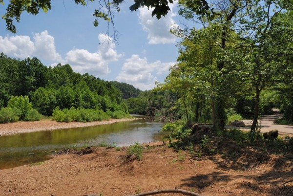 Picture of Huzzah Creek at Red Bluff Campground