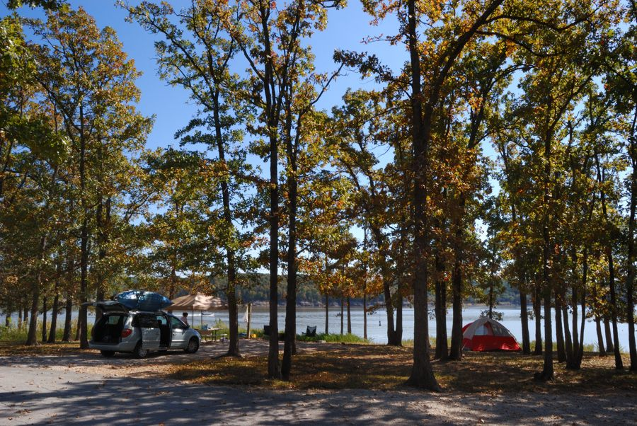Berry Bend Campground Harry S Truman Lake Missouri