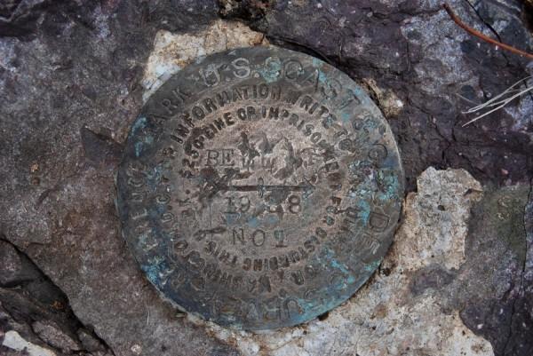 Bell Mountain Survey Marker