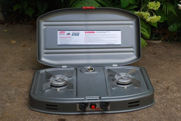 Coleman ultralight car camping propane stove