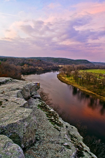 City Rock Bluff overlooking the White River - Jeff Rose
