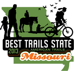 Graphic - Best Trails State Logo - Missouri 2013