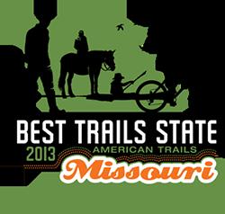 Graphic - Best Trails State Logo - Missouri 2013